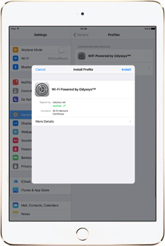 iPad instructions step 3